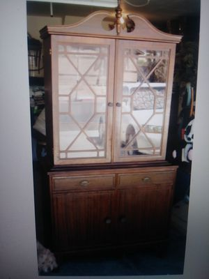 Antique China Hutch, Display Case for Sale in Las Vegas, NV