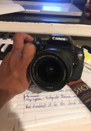 Canon t3i with accessories for Sale in Tacoma, WA