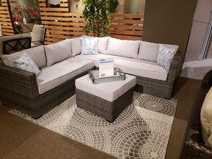 New 4pc outdoor patio furniture sectional sofa tax included free delivery for Sale in Hayward, CA