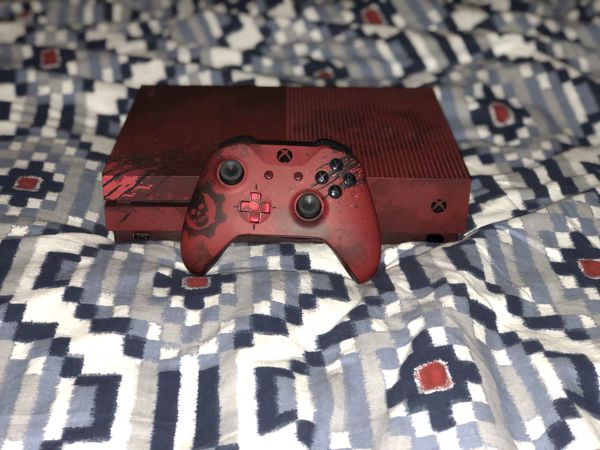 Xbox One S 2 TB Limited Edition - Gears of War