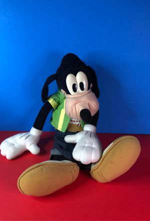 Talking Goofy Make Me Laugh Puppet Full Body Disney Plush Toy Stuffed Animal for Sale in Albuquerque, NM