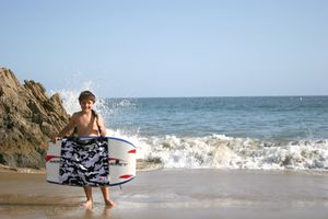 Moreyboady board sling | Carrier | Shortboard Carrier | beach towel | Bag All In one for Sale in Costa Mesa, CA