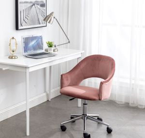 Rose gold velvet vanity chair office chair desk chair pink vanity chair velvet chairs BRAND NEW IN BOX for Sale in La Habra, CA