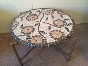 Tile coffee table for Sale in Tampa, FL