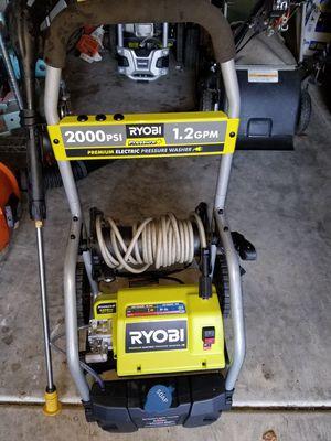 Ryobi 2000psi electric pressure washer for Sale in Seattle, WA