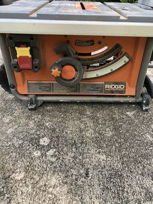 Ridgid Compact Table Saw R4516 for Sale in Fort Lauderdale, FL