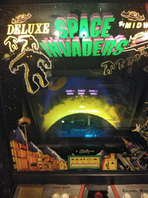 Midway Space invader deluxe arcade for Sale in Chicago, IL