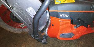 Husqvarna chainsaw k770 for Sale in San Jose, CA