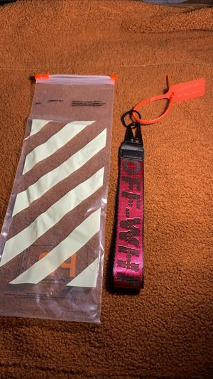 off white keychain for Sale in Lawrenceville, GA