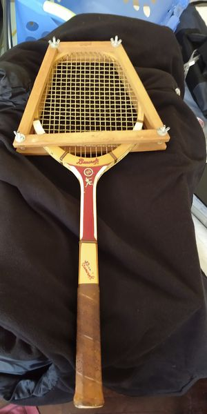 Vintage wooden tennis racket for Sale in North Chesterfield, VA