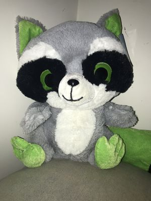 Large stuffed raccoon toy for Sale in Upper Marlboro, MD