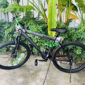 """Genesis 26"""" V2100 Men's Dual Suspension Mountain Bike, Slate Gray for Sale in Doral, FL"""
