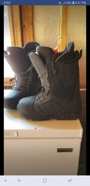 Mens Burton snowboard boots for Sale in Sayner, WI