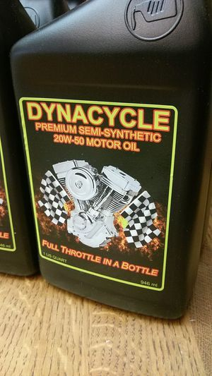 Dynacycle premium semi-synthetic motorcycle oil for Sale for sale  Fort Lauderdale, FL