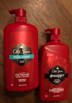 Old Spice hair and body for Sale in Stockton, CA