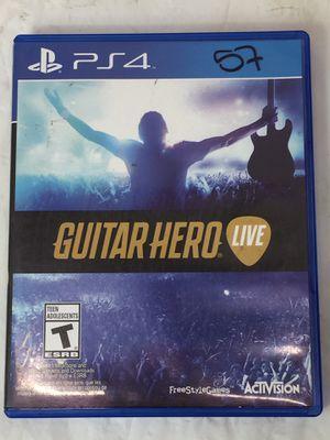 PS4 Guitar Hero Live (MXP013071) for Sale in Lakeland, FL