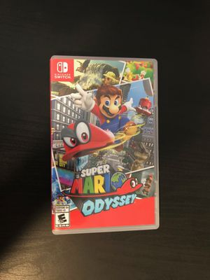 Nintendo Switch Super Mario Odyssey for Sale in Murfreesboro, TN
