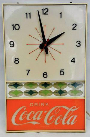 Coca Cola Vintage Clock for Sale in Boonsboro, MD
