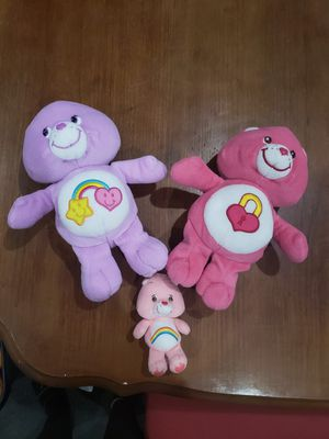 Care Bears plush toys for Sale in Rogersville, MO