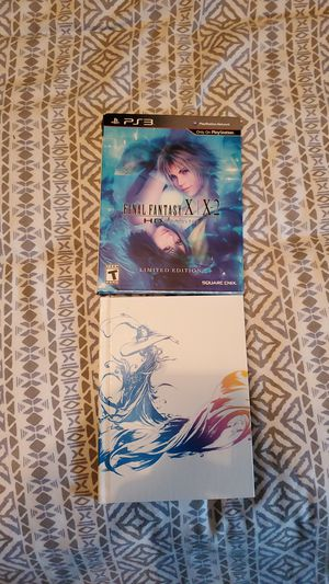 Final Fantasy X/XII ps3 special edition for Sale in Oceanside, CA