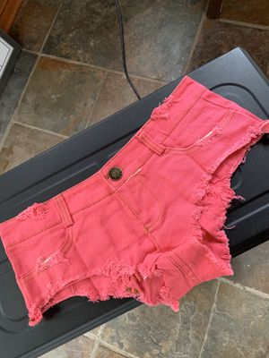 Hot pink denim shorts for Sale in Kirkland, WA