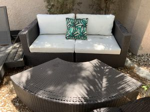 2 SET OF PATIO FURNITURE for Sale in North Las Vegas, NV