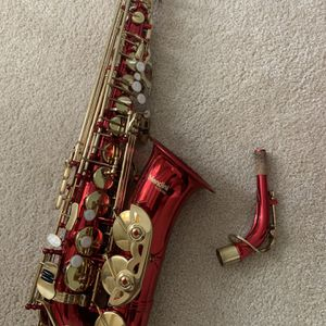 Mendini by Cecillo Red Saxophone for Sale in Jonesboro, GA
