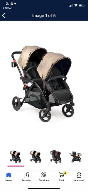 Contours Options Elite Tandem Stroller with Accessories for Sale in Springfield, MO