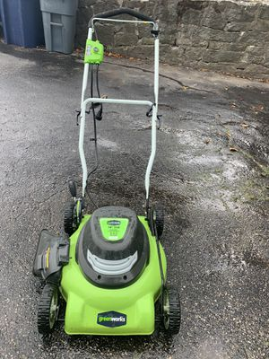 Greenworks 18in 2 in 1 Electric Mower for Sale in Dedham, MA