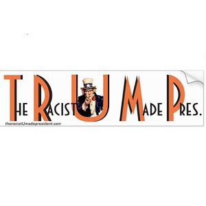 "Anti-Trump Bumper Sticker - 11.5"" x 3.5"" for Sale in Saratoga, CA"