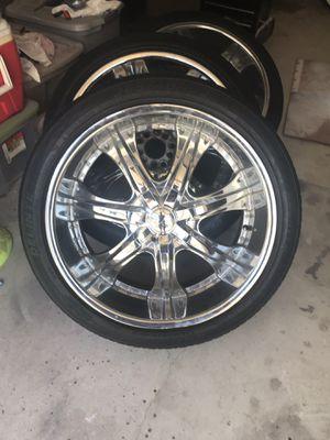 22 inch rims for Sale in Fullerton, CA