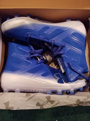 Unused Under Armour Football cleats for Sale in Washington, PA