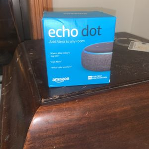 Amazon Echo Dot for Sale in Brooklyn, NY
