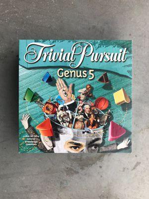 Trivia Pursuit Genus 5 for Sale in Broadway, VA