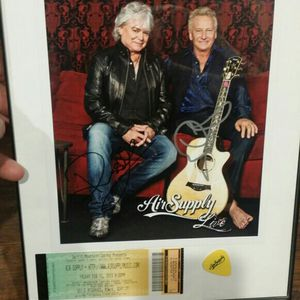 Autographed Air Supply Picture for Sale in Battle Ground, WA