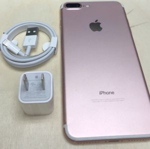 """iPhone 7 Plus ,,Factory UNLOCKED Excellent CONDITION """"aS liKE nEW"""" for Sale in Springfield, VA"""