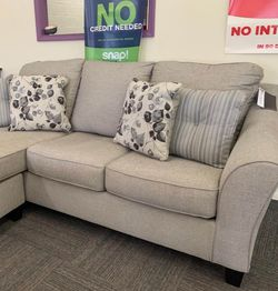 SAME DAY DELIVERY 🔴Driftwood Sofa Chaise 🔴Couch,Sofa,Living,Small Sectional for Sale in Houston,  TX