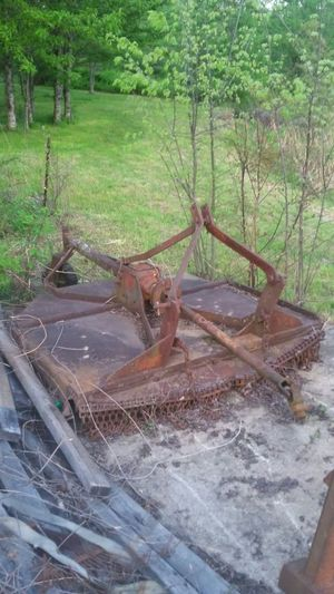 Old brush hog, 3pt hitch style, unknown brand or condition for Sale in St. Louis, MO