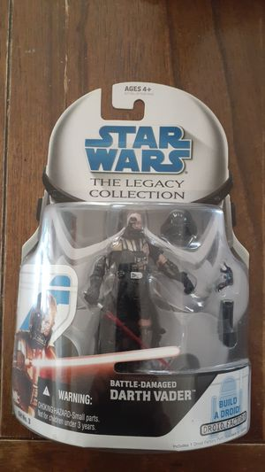 Starwars the legacy collection battle damaged Darth Vader GH No.3. for Sale in Lancaster, CA