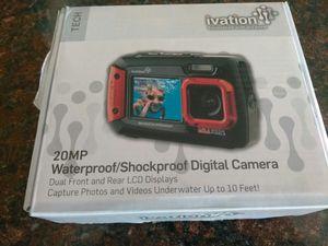 20mp digital waterproof camera for Sale in Spokane, WA