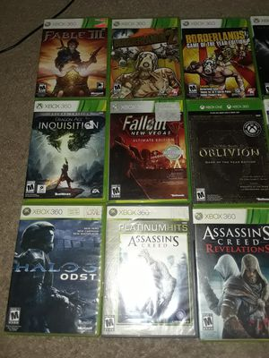 11 xbox360 games for Sale in St. Cloud, MN