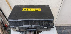 Dewalt power tool case for Sale in Manteca, CA