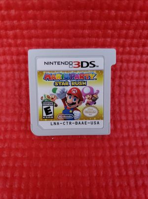 Mario Party Stars Rush 3ds game for Sale in Norwalk, CA