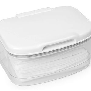 Skip Hop Wipes Dispenser with Moisture Seal Secure Lid, White for Sale in Las Vegas, NV