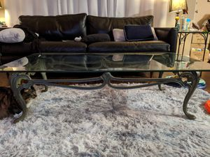 Glass coffee table for Sale in Oakland Park, FL