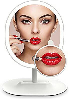 5x Magnifying 16 LED Vanity Makeup Mirror with Touch-control Light Panel, USB Powered for Sale in Grand Prairie, TX