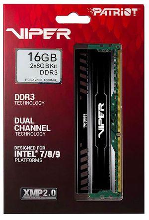 Patriot Viper 3 , 16GB RAM memory (2x8GB) DDR3 for Sale in Dallas, TX