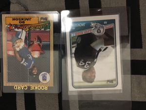 Bo Jackson rookie baseball and football for Sale in Nolensville, TN