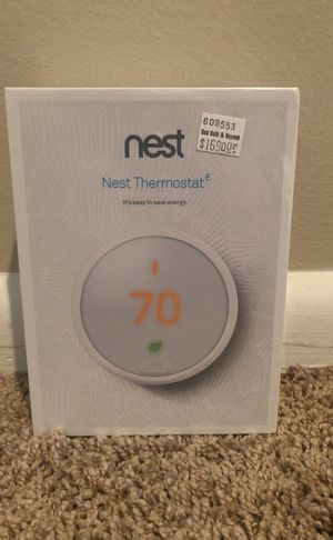 Brand new nest thermostat E for Sale in Philadelphia, PA