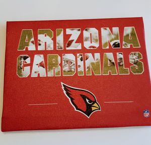 ARIZONA CARDINALS MINI SIGN for Sale in Surprise, AZ